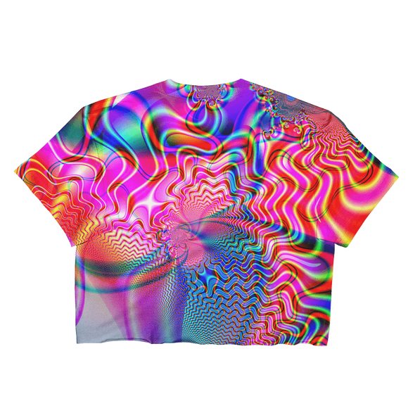 Color. Redefined. Loose Crop Top - Rave Threads USA - EDM, Rave, and Festival Clothing Store