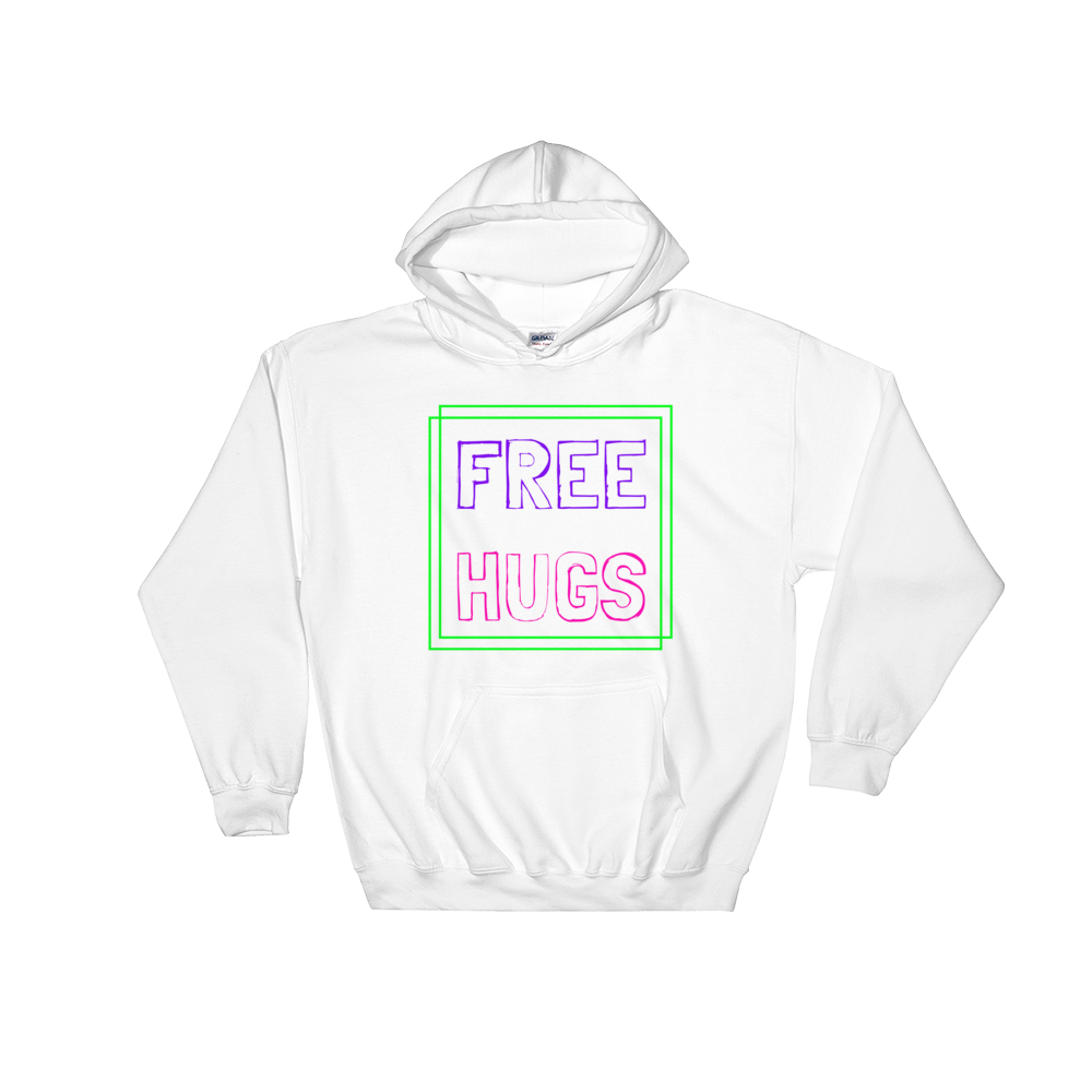 Free Hugs Hoodie - Rave Threads USA - EDM, Rave, and Festival Clothing Store