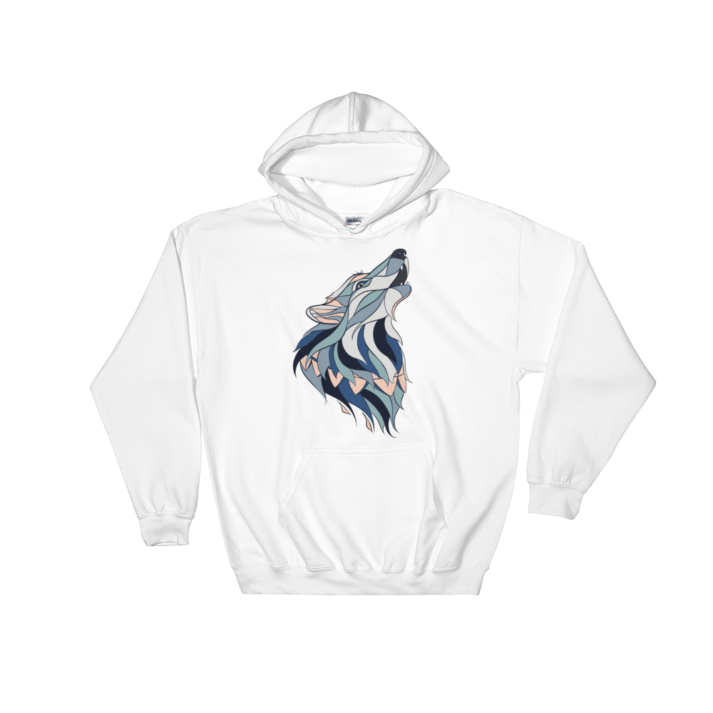 Howling Wolf Hoodie - Rave Threads USA - EDM, Rave, and Festival Clothing Store