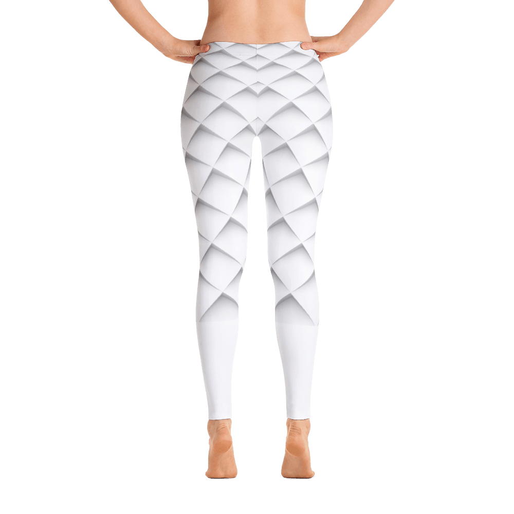 White Out Leggings - Rave Threads USA - EDM, Rave, and Festival Clothing Store