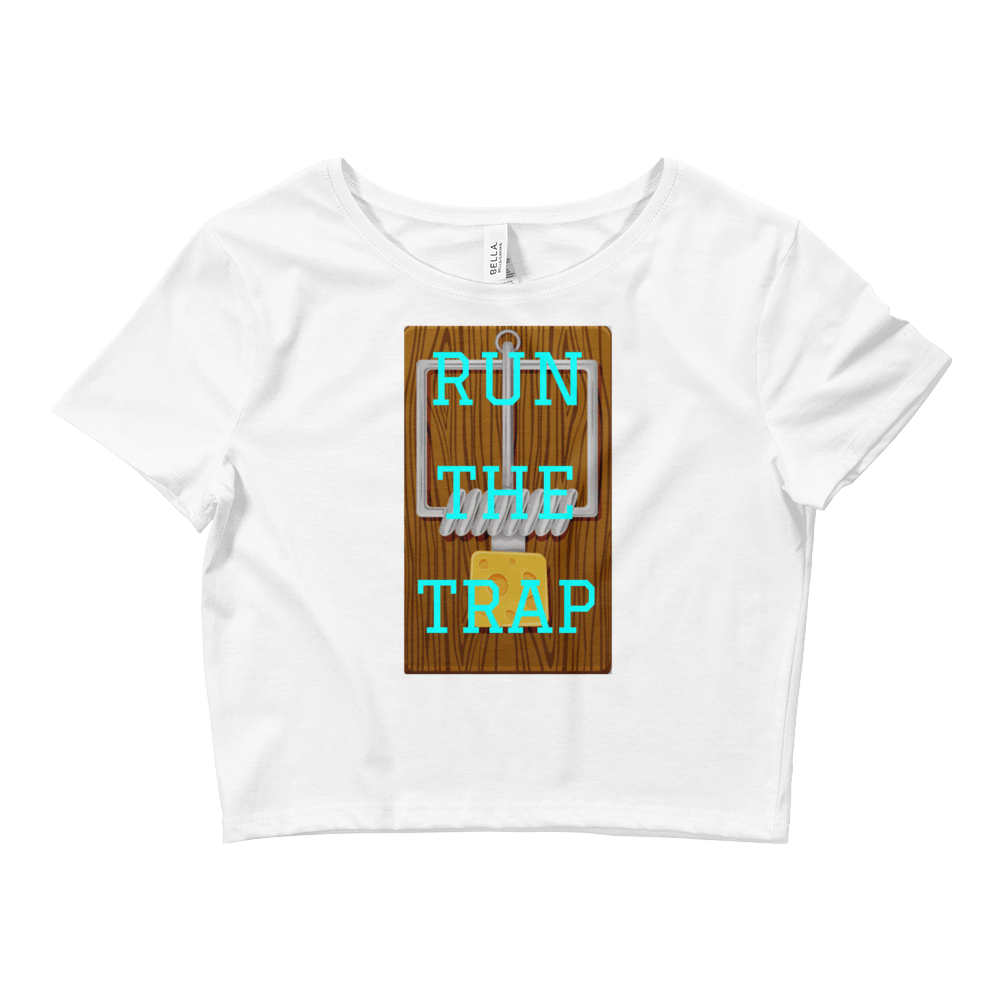 Run The Trap Crop Top - Rave Threads USA - EDM, Rave, and Festival Clothing Store