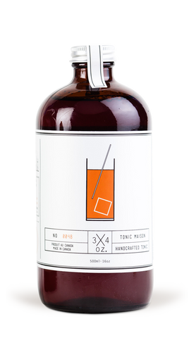 3/4 Oz. Tonic Maison - Tonic Syrup - 503 mL