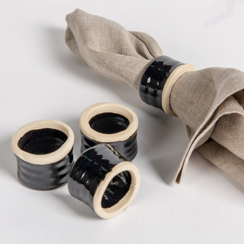 Ceramic Napkin Rings