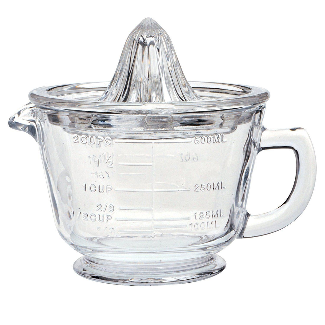 Glass Measuring Jug and Citrus Juicer