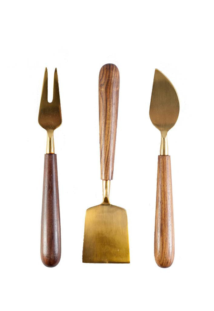 Set-of-3-Gold-Cheese-Knives