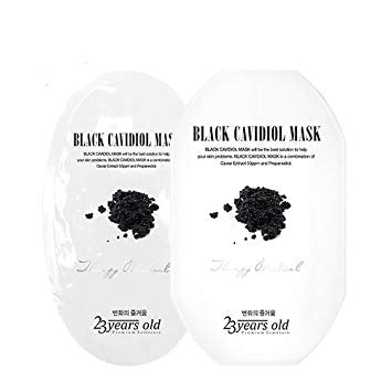 23 Years Old Black Cavidiol Mask