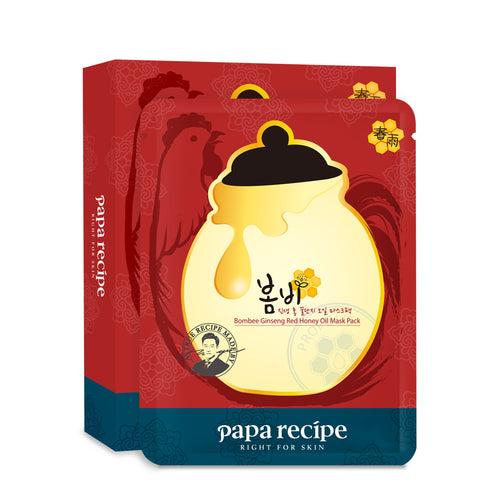 Papa Recipe Bombee Ginseng Red Honey Oil Mask Pack