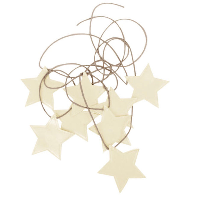 Star Garland Ivory - In stock