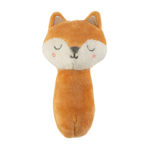Woodland Fox Baby Rattle - In Stock