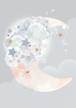 Moon Dreams print by Schmooks - In Stock