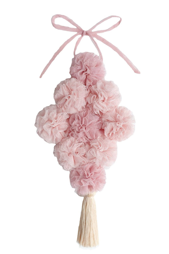 POM BOUQUET CANOPY GARLAND IN PINK & BLUSH - in stock