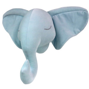 Elephant Head - Blue - 3 weeks delivery