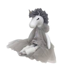 Unicorn Princess in Grey - 4 weeks Delivery