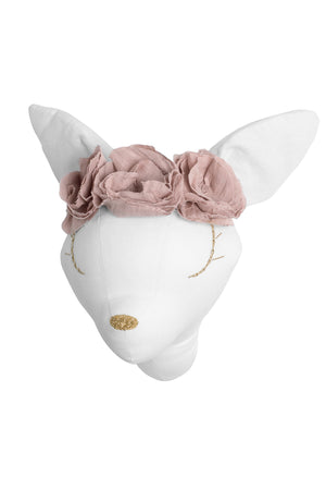 Deer white with dusky pink flowers - 3 weeks delivery