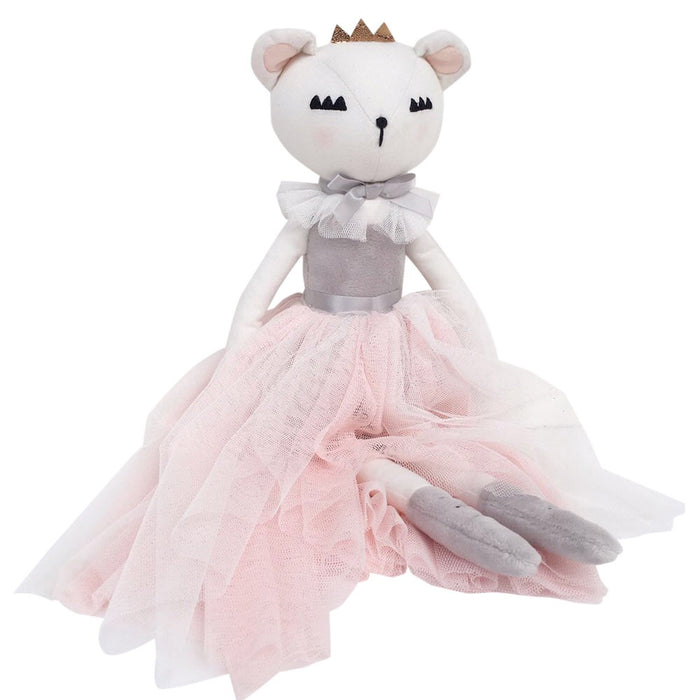 Callie Lashful Bear Doll - In stock