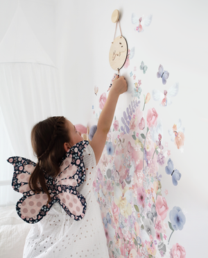 Fairy Garden Wall Sticker by Schmooks - In stock