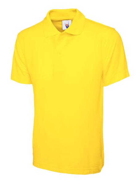 Workwear package deals, uneek classic polo Yellow