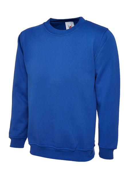 Workwear Uneek classic sweatshirt Royal Blue