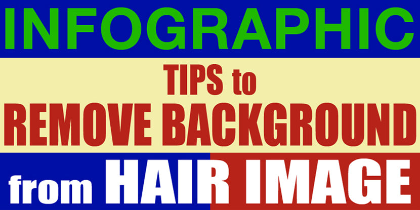 Infographic of background removal tutorial banner
