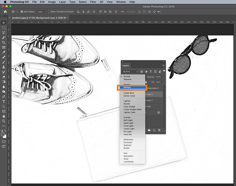 Drawing Websites With Layers