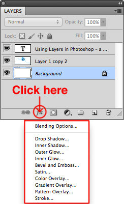 Adding styles to a layer