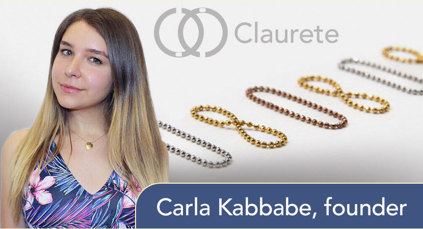 Carla Kabbabe, founder of Claurete