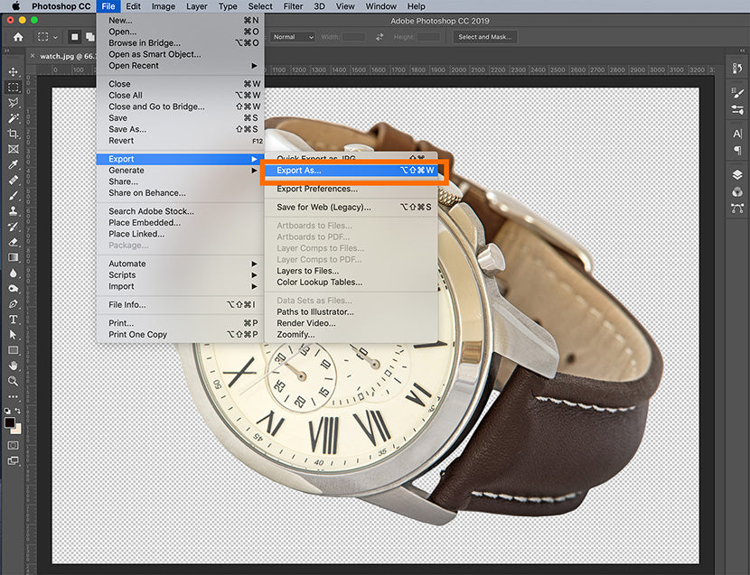 How to Create a Transparent Background in Photoshop