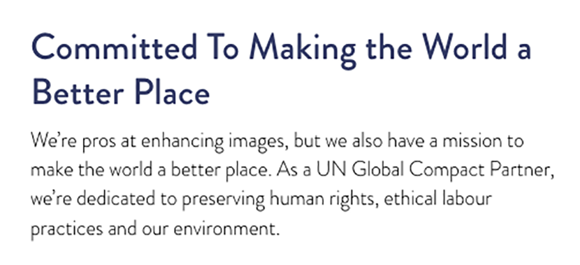 UN Global Impact Partner statement