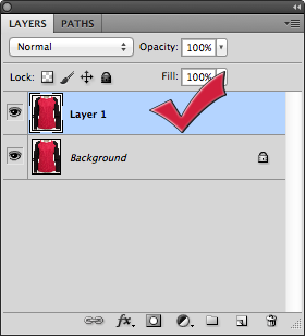Create duplicate layer