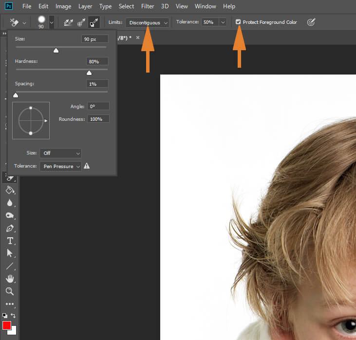 How to Remove Background from Hair in Photoshop CC18