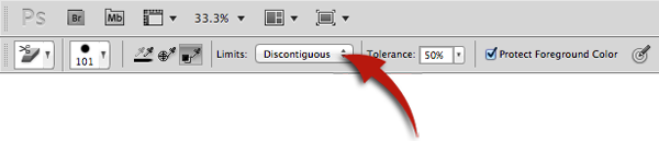 Select Discontiguous