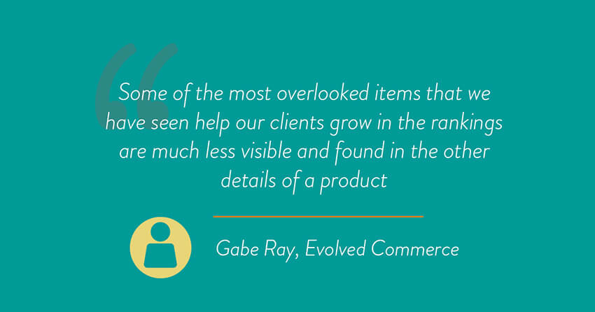 Gabe Ray, VP of operations at Evolved Commerce quote