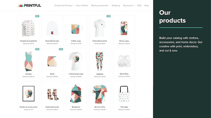 42e2a0f3 Printful syncs with your Shopify store to let you sell print-on-demand  products like t-shirts, mugs, posters, and more. When an order is made on  your ...