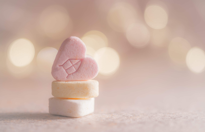 Product photography bokeh candy