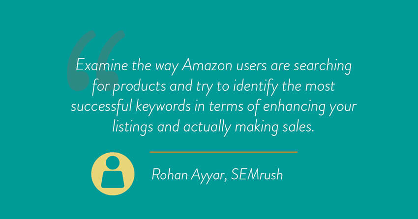 Rohan Ayyar, SEMrush quote