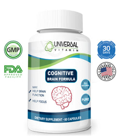 Cognitive Brain Formula Free + Shipping