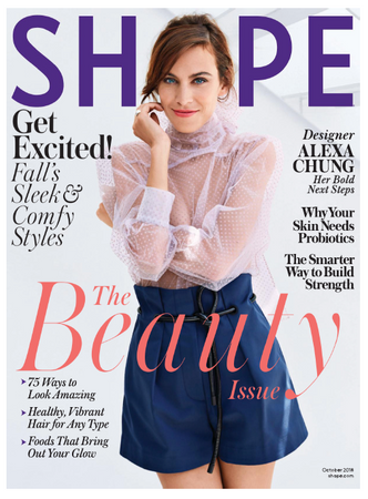 AARKE Featured in SHAPE - October 2018