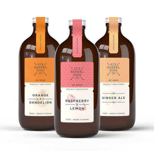 Six Barrel - Soda Triple Pack