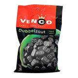 Venco Dubbel Zout DZ (Double Salt) Dutch Black Licorice 173 g 6.1 oz - GreatHoard.com