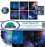 Reminisce OUT-200 Outer Space Scrapbook Collection Kit - GreatHoard.com
