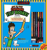 General Pencil How To Draw Cartoon Flip Books Kit - GreatHoard.com