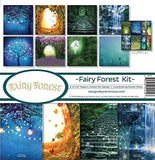 Reminisce FAF-201 Fairy Forest Scrapbook Collection Kit - GreatHoard.com