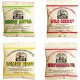 Claeys Old Fashioned Hard Candy - Variety 4 Pack - Apple, Cherry, Lemon, and Watermelon - Since 1919 - GreatHoard.com