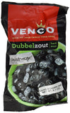 Venco Double Salt Licorice 6.1 Oz (Pack of 4) - GreatHoard.com