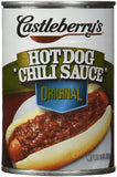 Castleberry's, Hot Dog Chili Sauce, Classic, 10oz Can (Pack of 6) - GreatHoard.com