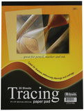BAZIC 30 Count  9 inches by 12 inches Tracing Paper Pad,Clear - GreatHoard.com