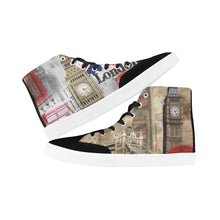 Bootes High Top Canvas Men's Shoes-Love for London - wonderlandaccessories