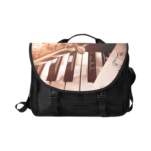 Laptop Bag-Saxophone and Piano