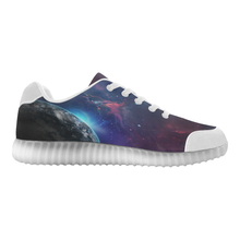 Light Up casual Women's-Men's Shoes-Travel Among Planets - wonderlandaccessories