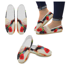 Casual Canvas Women's Shoes-Piano and Rose Dust - wonderlandaccessories
